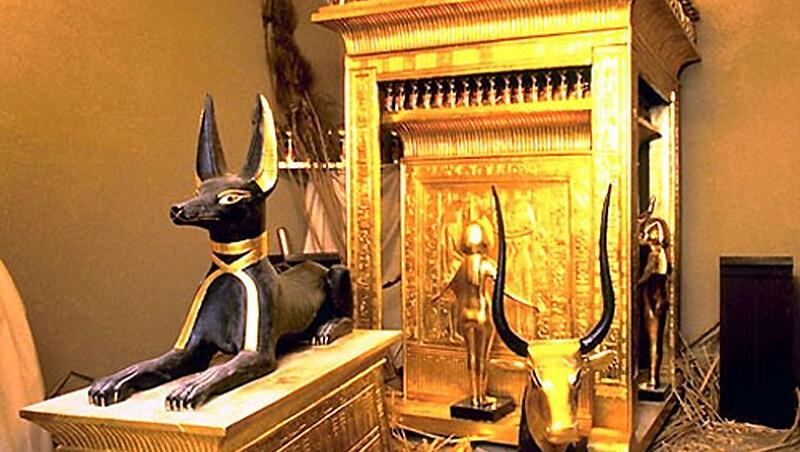 Где сейчас находятся предметы из гробницы Тутанхамона?