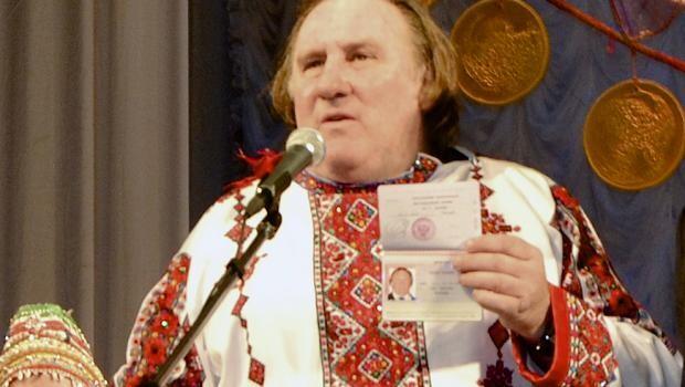 Зачем Депардье российское гражданство?