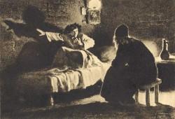 Умирающий Мцыри рассказывает свою историю
